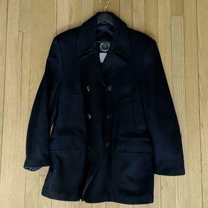 Vintage Navy Pea Coat (40)